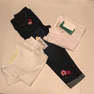 3/$25🎈BUNDLE🎈Koala Kids Jeans & TWO White Tops